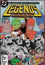 Legends #3 (1987) First new Suicide Squad.  John Byrne art.