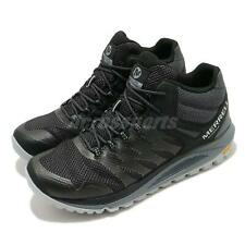 Merrell Nova 2 Mid Waterproof Black Grey Men Trail Running Outdoor Shoes J035579