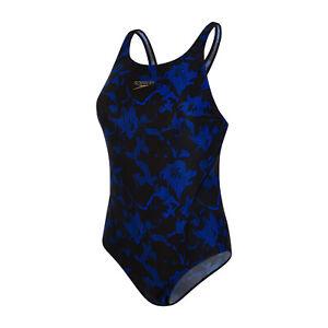 Womens Speedo Powerflex Eco Swimsuit Swimming Costume Eco-Friendly New Size 16