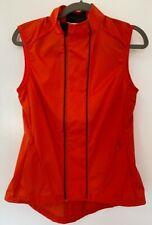 Rapha Women's ORANGE Classic Gilet Vest Small NWOT