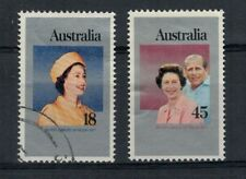 1978 Set of 25th  Silver Jubilee Reign of QEII 18c 45c Used