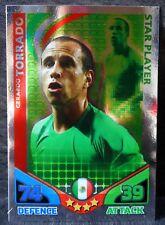 Gerardo Torrado Mexico Star Player football trading card Topps 2010 World Cup