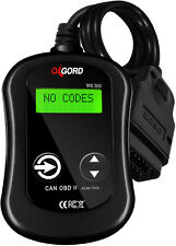 OBDII Scanner Code Reader CAN OxGord MS300 OBD2 Scan Tool Fault Decoder