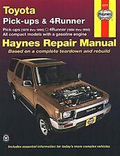 Toyota Pickup Trucks 1979-1995, 4Runner 1984-1995 Repair Manual