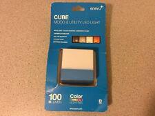 Enevu Cube Mood Utility LED Light 100 Lumen White Color Changing Splashproof