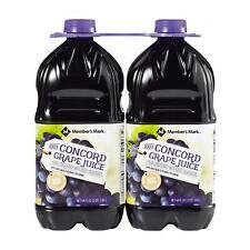 Member's Mark 100% Concord Grape Juice (64 fl. oz., 2 count)