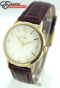 Vintage Omega 1964 10k Gold Filled LU6304 Cal 550 Men's Watch