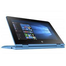 Portátiles y netbooks HP color principal azul Intel Celeron