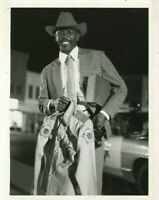 "Lou Gossett Jr. - ""This Man Stands Alone"" 1979  tv press photo MBX97"