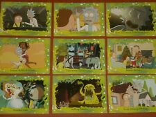Rick And Morty Trading Cards: Complete 45 Base Card Set Cult Animated TV Series
