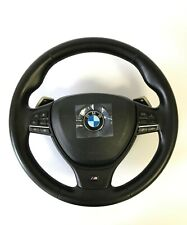 BMW F10 F11 F12 F01 F07 M SPORT STEERING WHEEL WITH AIRBAG SHIFT PADDLES ACC