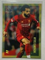 "2020 Mohamed Salah TOPPS ""Top Talent"" Soccer UEFA Champions League Card"