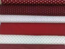 Redwork Gatherings, Primitive Gatherings for Moda, 100% Cotton Fat Quarters