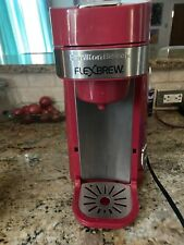 Hamilton Beach Flex Brew Red For Parts As Is