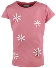 T-shirts, hauts et chemises à motif Floral pour fille de 2 à 16 ans en 100% coton, taille 3 - 4 ans