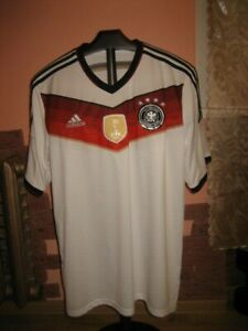Germany(Deutchland) National Team Adidas Home 2014/16 Jersey/Shirt size XL(Adult