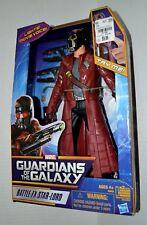 "Battle FX Star Lord MARVEL 12"" GUARDIANS OF THE GALAXY Figure CHRIS PRATT (2013)"