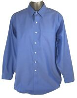 Brooks Brothers Mens 16 1/2-34 Long Sleeve Button Up Dress Shirt 100% Cotton