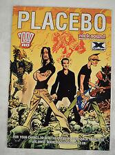 2000 AD Placebo 1 2004 Judge Dredd Band Poster