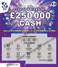 WARNING-VERY REALISTIC FAKE Joke Lottery Scratchcards Scratch Cards FUNNY PRANK