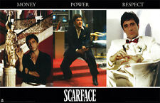 Z162 Scarface Money Power Respect Collage Poster 24X36