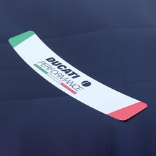 Ducati Performance Helmet Visor Sunstrip Sticker Motorcycle Italian Bike Vinyl