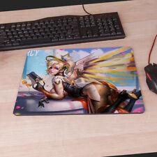 Details about  /F1652 Free Mat Bag Overwatch OW D.VA Gaming Mat Custom Yugioh MTG TCG Playmat