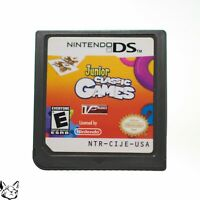 Junior Classic Games - Nintendo DS DSi DS Lite Game AUTHENTIC! [USA SELLER!]
