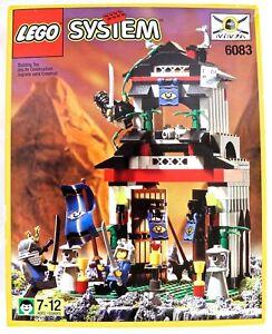 LEGO 6083 Ninja Samurai Stronghold Set ***NEW/SEALED*** VINTAGE 1998 (Free Ship)