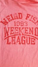 weird fish T-shirt Size xlarge. weekend league