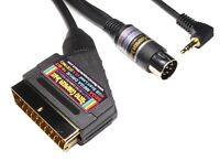 Sega Mega Drive High Quality RGB Scart TV Lead Video Cable with STEREO sound