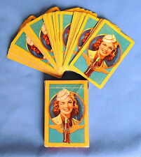 Coca Cola Vintage Playing Cards  - Air Force/Army Military 1943