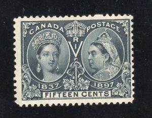 1897 Canada. UNI/SC#58. SG#132. Mint, Never Hinged, FVF