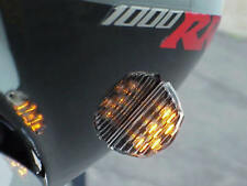 Black/Clear BRIGHT LED REAR TURN SIGNALS for SPORTBIKES