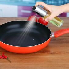Oil Pump Spray Bottle Olive Can Tool Pot Cooking Kitchen Stainless US US