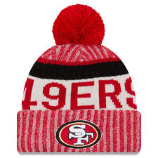 San Francisco 49ers NFL Football sideline Beanie new era one size invierno gorro