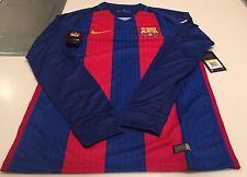 Группа фк Барселона аутентичные длинные рукава, джерси, синяя, красная, футбол футбол xxl
