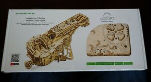 Hurdy-Gurdy  Mechanical 3 D puzzle Ugears