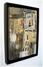 "SUPERB NEW SIMON KIRK ORIGINAL ""Gennem"" Abstract Cave PAINTING"