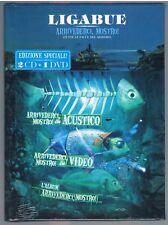 LIGABUE ARRIVEDERCI MOSTRO! (TUTTE LE FACCE DEL MOSTRO) 2 CD+DVD F.C. SIGILLATO!