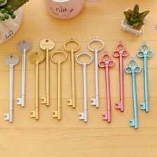 2pcs/lot Creative Golden Key Neutral Pen Kawaii Stationery Pens Kids Gifts New