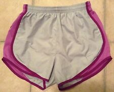 Nike Tempo Running Shorts Grey Purple XS XSmall Athletic Workout Sports Team HTF