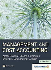 Management and Cost Accounting with MyAccountingLab Access Card, Bhimani, Alnoor