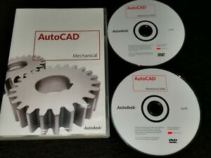 AutoCAD Mechanical 2008,English.CDs With Serial Number + CD Key.In the box–open.