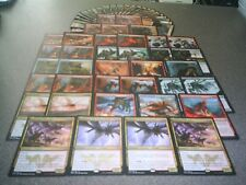 MTG Magic BLACK RED DRAGON DECK Kolaghan Swift Warkite BFZ Origins LOT