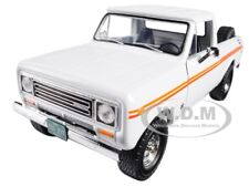 1979 INTERNATIONAL SCOUT TERRA PICKUP WHITE/ORANGE SPEAR 1/25 FIRST GEAR 49-0407