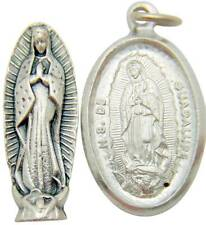 "Our Lady Of Guadalupe Pocket Metal Mary Statue Medal Gift Set 1"" from Italy"