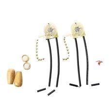 Catenella color oro interruttore per ventole e lampade (2 pezzi) AC 6A 125V*R7J1