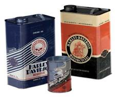 Harley-Davidson Storage Canister Set, Garage Inspired Shapes, Set of 3 HDL-18560