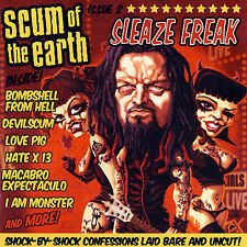 Scum of the Earth - Sleaze Freak  (CD, Oct-2007, Eclipse Records) + DVD